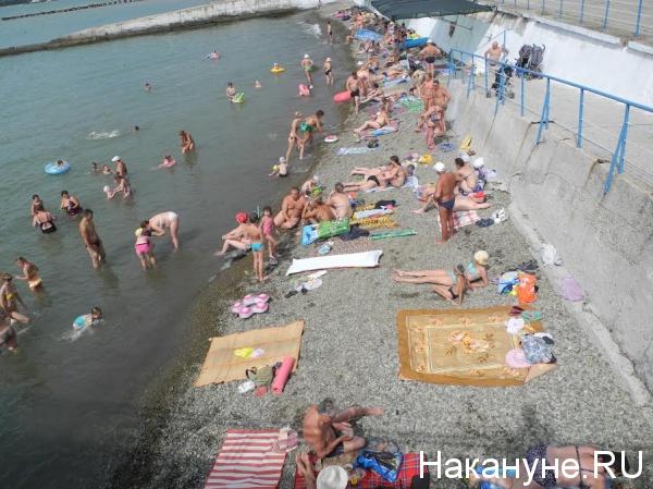 Крым, пляж|Фото: Накануне.RU