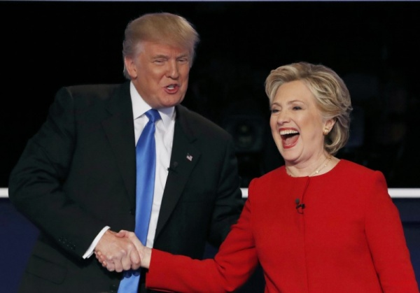 Клинтон, Трамп|Фото: arena.press
