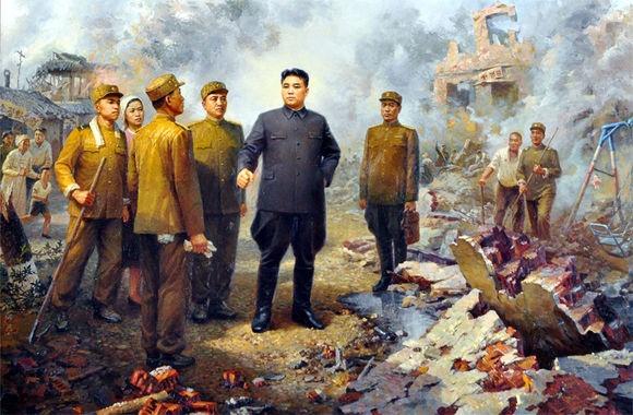 После Корейской войны страна находилась в разрухе|Фото: tieba.baidu.com