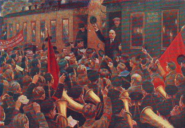 1917, Октябрьская Социалистическая революция, Ленин, апрельские тезисы, Владимир Ильич|Фото: artru.info