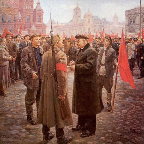 1917, Октябрьская Социалистическая революция, Ленин, апрельские тезисы, Владимир Ильич|Фото: biography.sgu.ru