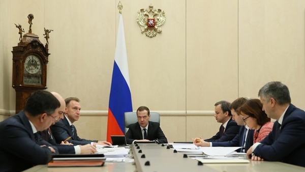 Совещание по экономическим вопросам, Медведев, Шувалов, Дворкович, Правительство|Фото: government.ru