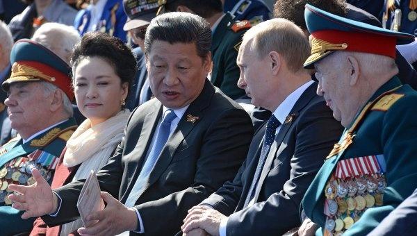 путин, си цзинь пин, парад|Фото:риа новости