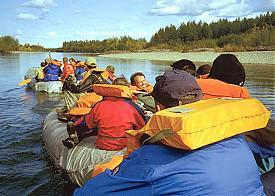 туризм туристы сплав|Фото: www.yakutiatravel.com