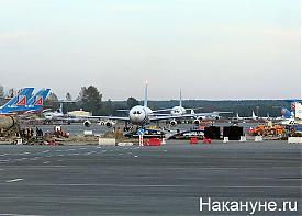 екатеринбург аэропорт кольцово самолет ил-86 авиакомпания уральские авиалинии|Фото: Накануне.ru