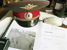 милиция рация фуражка Фото: www.ogoniok.com