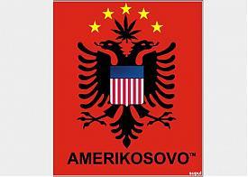 америкосово коллаж косово независимость герб|Фото: oper.ru