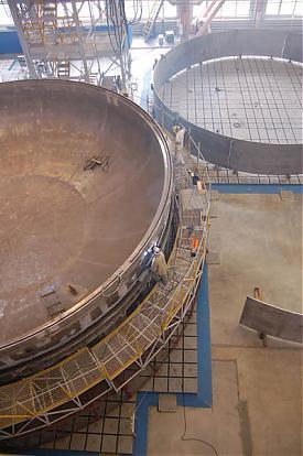 укрупнение реактора энергблока бн-800 на баэс|Фото: баэс