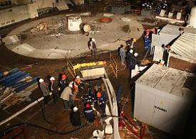 авария саяно-шушенская гэс Фото: mchs.gov.ru