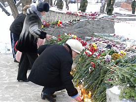 клуб хромая лошадь пермь возложение цветов|Фото: www.gorodperm.ru