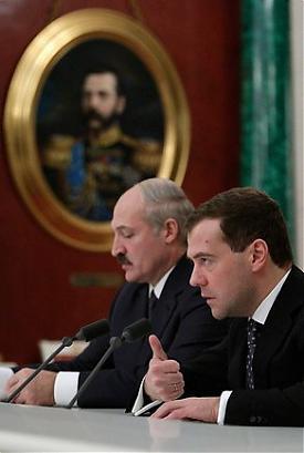 лукашенко и медведев|Фото:kremlin.ru