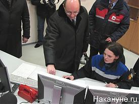 Губернатор Свердловской области Александр Мишарин ЦПУ СУМЗа|Фото:Накануне.RU