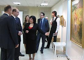 екатеринбургская галерея современного искусства губернатор александр мишарин|Фото: Накануне.RU