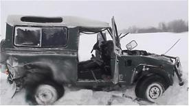 УАЗ Юлии Чичериной попал в аварию под Курганом|Фото:chicherina.com