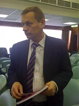 Сергей Пономарев, начальник отдела пограничной политики, сотрудничества со странами СВА и международными организациями  аппарата губернатора Сахалинской области|Фото: Накануне.Ru