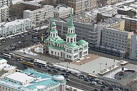 храм святой Екатерины проект, площадь труда|