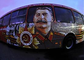 автобус победы Сталин|Фото: viklamist.livejournal.com