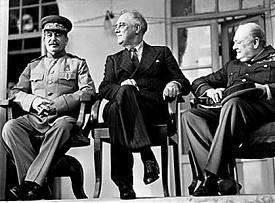 сталин рузвельт черчилль|