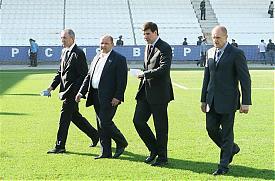 юревич давыдов стадион Фото: пресс-служба губернатора челябинской области