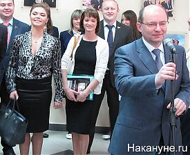 Алина Кабаева Светлана Хоркина Александр Мишарин|Фото:Накануне.RU