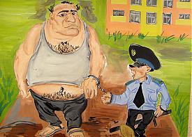 карикатура приставы|Фото: УФССП по ХМАО-Югре