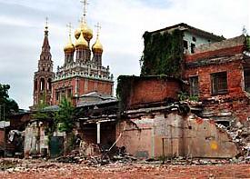 Кадаши  Церковь Воскресения разрушение Москва|Фото: Пресс-служба Московского Совета