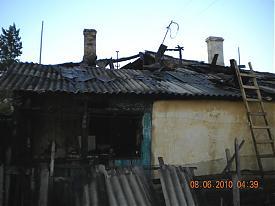 дом пожар карталы|Фото:пресс-служба гу мчс по челябинской области