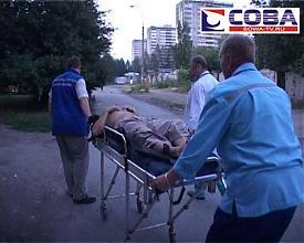 балкон падение человек спасатели|Фото:служба спасения Екатеринбурга Сова