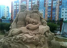 песочные скульптуры|Фото: markov-surgut.livejournal.com