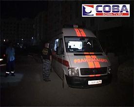 падение стройплощадка человек реанимация скорая|Фото:городская служба спасения Сова-ТВ