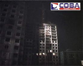 падение стройплощадка человек|Фото:городская служба спасения Сова-ТВ