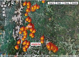 вижай ивдель пожар карта Фото: maps.google.ru