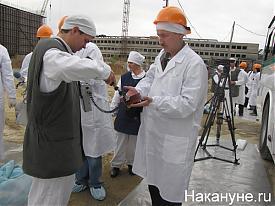 "НПО ""Маяк"", дозимитер, радиация, атом, оператор телеканала ""Ермак""|Фото:Накануне.RU"