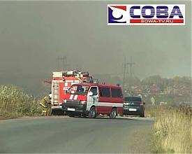 пожар трава лес торфяник горный щит|Фото:sowa-tv.ru