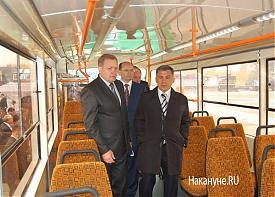 трамвай александр мишарин рустам минниханов|Фото: Накануне.RU