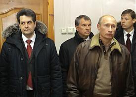 николай винниченко игорь сечин владимир путин юрхаровское газоконденсатное месторождение|Фото: premier.gov.ru
