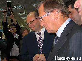 губернатор Свердловской области Александр Мишарин, межрегиональная  аграрная выставка|Фото:Накануне.RU
