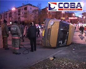 дтп маршрутка газель автомобиль мерседес|Фото:sowa-tv.ru