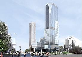 Антей, Рэдиссон, Redisson, небоскреб, проект|Фото:eguar.ru