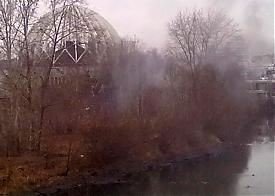 пожар дым исеть цирк Фото: Накануне.RU
