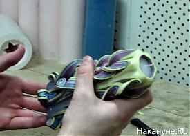 Уральская свечная фабрика свеча резная декоративная|Фото: Накануне.RU