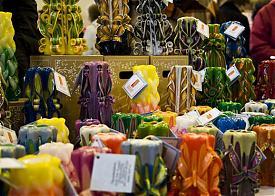 резная свеча|Фото: уральская свечная фабрика