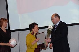 день российской печати бал прессы журналисты губернатор александр мишарин награждение|Фото:amisharin.ru