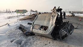 авария дтп газель грузовик|Фото:УГИБДД Свердловской области
