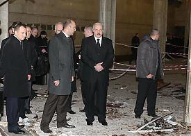 взрыв метро минск лукашенко|Фото: belta.by