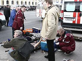 теракт в Минске в метро скорая помощь раненные врачи|Фото:belaruspartisan.org