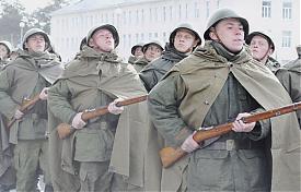 репетиция парад победы военные войско шествие солдат|Фото:Александр Черноскутов