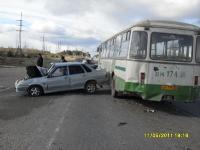 дтп ваз лиаз автобус автомобиль|Фото:ugibddso.ru