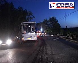"ДТП авария автомобиль столб|фото: служба спасения ""Сова"""