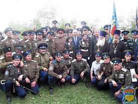 Мишарин и казак|Фото:ataman-ovko.ru